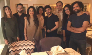 Stars surprise Azfar Rehman for 29th birthday