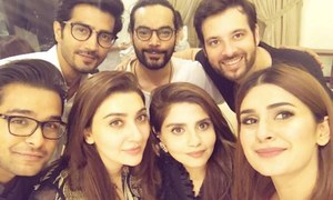 Humayun Saeed's star-studded Sehri affair