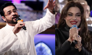 Aamir Liaquat's indecent transmission with Meera