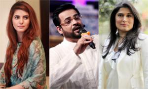 Sharmeen Obaid & Momina Mustehsan criticize Aamir Liaquat