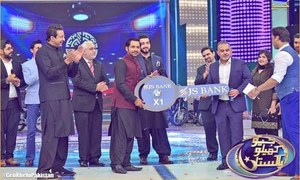 Sarfraz Ahmad honored at Wasim Akram & Shoaib Akhter's game show