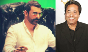Shamoon Abbasi has a lot to say on the film industry