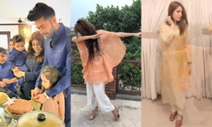 Here's how our favorite celebs celebrated the 2nd day of Eid
