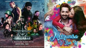 Box Office Report: Yalghaar and Mehrunisa V Lub U battle it out