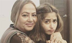 Sridevi's heartfelt message to Sajal Aly plays at 'Mom' premiere