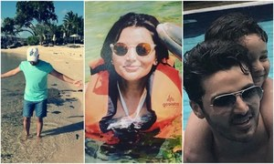 From gorgeous Mauritius to bustling London, here's how our celebs are spending their vacations