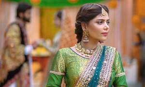 Hadiqa Kiani sets wedding season goals with latest track 'Chaap Tilak'