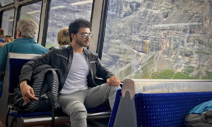 From Rome to Switzerland, Imran Abbas is globe-trotting in style