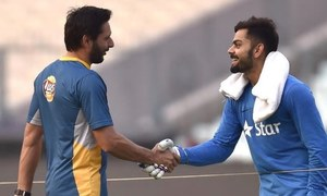 Virat Kohli lends his support for the Shahid Afridi Foundation