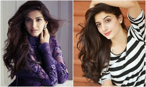 After Mahira Khan, Sonam Kapoor gifts Mawra Hocane her design