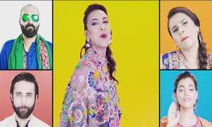 Colorful Acapella version of Alamgir's 'Khayal Rakhna' is the coolest thing you'll hear!