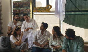 The Punjab leg of Na Maloom Afraad 2 promotional tour has just begun