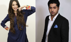 "Imran Ashraf and Neelam Muneer pair up for a mini serial ""Laaj"""
