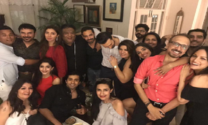 Asim Raza turns 51 with a star studded birthday bash