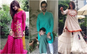 This is how and where our favorite celebs are celebrating Eid today!