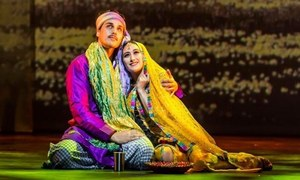 "Ahsan Khan starrer anglo-sufi musical ""Ishq"" opened to great response by the audience in London"