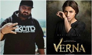 Xpolymer Dar does a rap track 'Power Di Game' for Mahira Khan's Verna