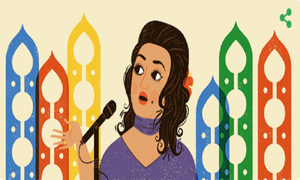 Google pays tribute to Queen of melody Madam Noor Jehan on her birthday