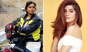 "Shooting begins for Sohai Ali Abro's "" The Motorcycle Girl"""