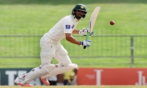 Sarfaraz's battle against the UAE pattern