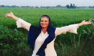 """Main tou Punjab hoker aagai"" The Punjab Nahi Jaungi fever hits Shaniera Akram!"
