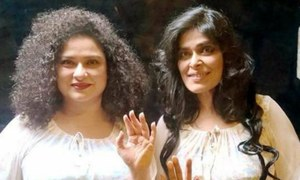 "Sania Saeed and Nimra Bucha pair up for a theatrical play ""Mushk"""