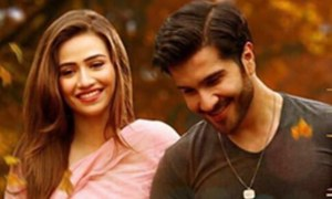 Sana Javed and Feroze Khan look absolutely impressive in the first look of 'Khaani'