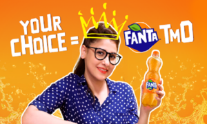 Your choice rules! Hina Altaf takes over Fanta as the first Teen Marketing Officer!