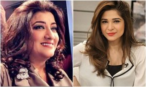 Ayesha Omer and Hina Dilpazeer officially join the cast of Saat Din Mohabbat In