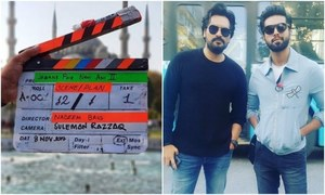 Shooting for Jawani Phir Nahi Ani 2 kickstarts in Turkey and energies are soaring high!