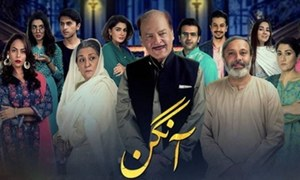 Aangan on ARY Digital begins on a delightful note