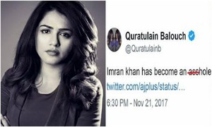 QB abuses Imran Khan and Twitterati isn't having it!