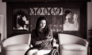 """I'd love to meet someone who'll help me understand how a paraplegic can be labelled as promiscuous,"" Muniba"