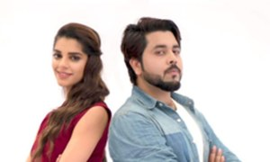 Ali Pirzada's music video features Sanam Saeed and we are in love!
