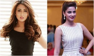 """Saba Qamar is the epitome of talent, beauty and hard work,"" Ushna Shah"