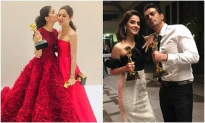 Mahira Khan, Mawra Hocane and Saba Qamar win honors at the Masala! Awards in Dubai!