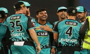 Shadab Khan's tremendously successful Big Bash adventure comes to an end!