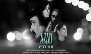 Rehan Sheikh's Azad to release on 9th Feb 2018!