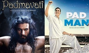 How important is the release of the Indian films, 'Padmaavat' and 'PadMan' for our cinemas?