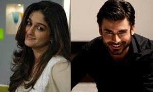 "Nadia Jamil calls Fawad Khan ""Utterly Professional"""
