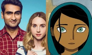 "Kumail Nanjiani's ""The Big Sick"" and Ali Kazmi's ""The Breadwinner"" get nominated for the Oscars"