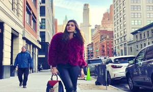 Ayesha Omar takes New York by storm!