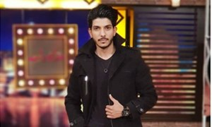 Mohsin Abbas Haider records a song for the Lux Style Awards 2018 with Amanat Ali and others