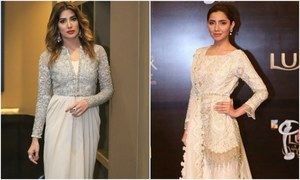 Mehwish Hayat in Punjab Nahi Jaungi Vs. Mahira Khan in Verna, whose your pick?