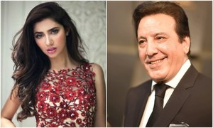 Mahira Khan shuts down the Javed Sheikh kiss controversy at LSA!