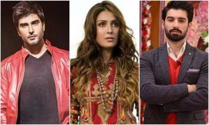 Imran Abbas, Ayeza Khan and Muneeb Butt to star in iDream Entertainment's next for ARY Digital