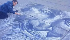 London Based Artist Honors Abdul Sattar Edhi