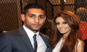 Amir Khan and wife Faryal Makhoom to have a reality show of their own!