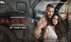 Tiger Shroff's 'Baaghi 2' To Release In Pakistan