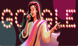 Google Honors Queen of Pop, Nazia Hassan On Her 53rd Birthday!